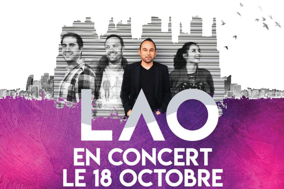 Concert du groupe LAO au Mans