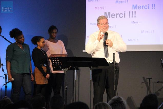 Culte inaugural et baptême d'adulte