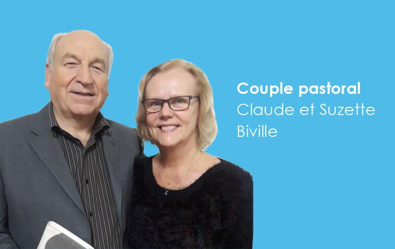 Couple pastoral Claude et Suzette Biville